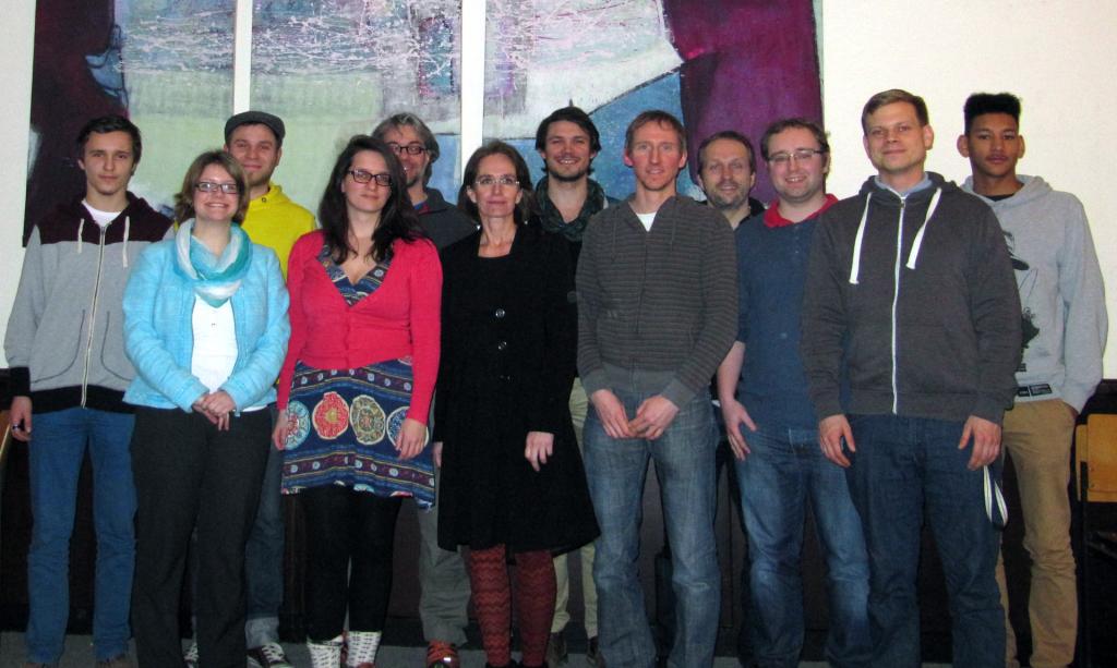 Eins der ersten Treffen: Junges Forum Konstanz am 20. Februar 2012