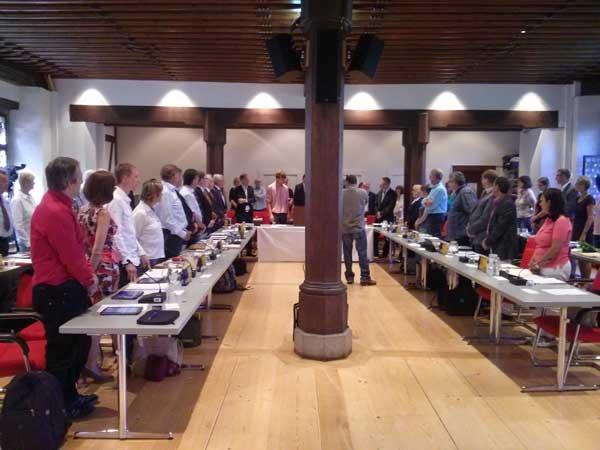 Konstituierende Sitzung des Konstanzer Gemeinderats