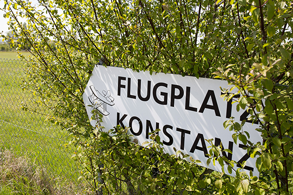Kampf um den Flugplatz Konstanz